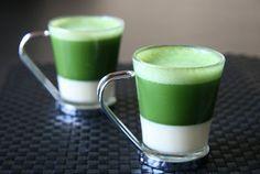 Espresso Green Tea with Condensed Milk.