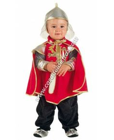 Disfraz de Guerrero Medieval para Bebé. www.casadeldisfraz.com