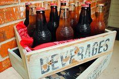 DIY Vintage Soda Cra