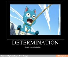 Determination, this is what it looks like