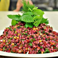 Appetizer Salads, Appetizers, Couscous, Salad Recipes, Salsa, Food And Drink, Cooking, Ethnic Recipes, Desserts