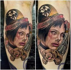 Leon Tattoo We Heart It Colorful Tattoo And Leon pertaining to Léon: The Professional Tattoo