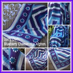 Zooty+Owl's+Crafty+Blog:+Diagonal+Box+Stitch+Afghan:++Blueberry+Cheesecake