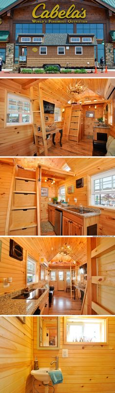 The Mountaineer tiny house (352 sq ft)