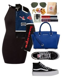 """""""Tory Lanez - Unforgetful"""" by annabidel ❤ liked on Polyvore featuring Vans, Hyein Seo, Ray-Ban, Maison Margiela, Michael Kors, Michael Williams and NYX"""