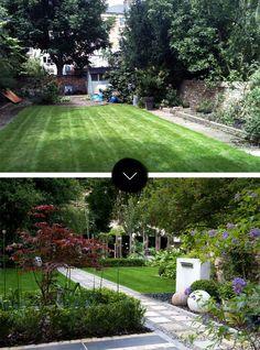 До и После: современный японский сад в Северном Лондоне, на Design * Sponge