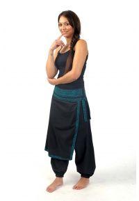 Pantalon sarouel femme ethnique papillon Seturai - FZ1544