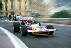 Ronnie Peterson (SWE) (Antique Automobiles Racing Team), March 701 - Ford-Cosworth DFV 3.0 V8 (finished 7th)  1970 Monaco Grand Prix, Circuit de Monaco