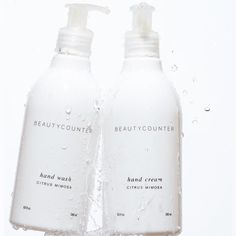 It's always a good week when we kick it off with a new product announcement. Today, we launched our Hand Wash, and as a bonus, our Hand Cream is also available now in a convenient pump. Visit www.bit.ly/bchandset to shop them both as a set. Photo credit: @ericamccartneyphotography