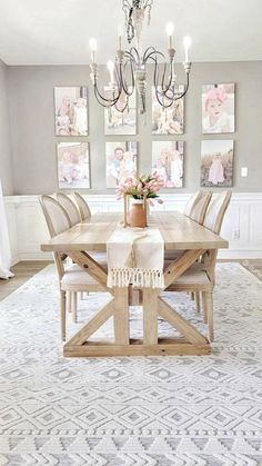 Dining Bench, Dining Room, Shabby Chic Homes, Home Free, Unique Colors, Area Rugs, Carpets, Interior, Coastal