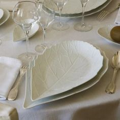 Jacques Pergay Hawthorne dining plate 37x22cm