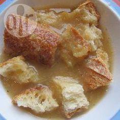Photo recette : Soupe au pain rassis