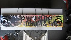 World Drum & Bass #styleflip #dj #deejay #music #technology #skin #custom #artist