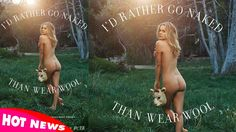 Must Watch: Alicia Silverstone Poses Nude for PETA to Protest Wool