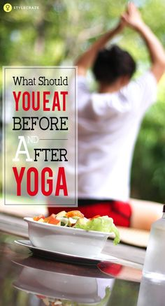 To get the most benefits from yoga, it is necessary that you eat the right type of foods. It is important that you consume the right type and the right amount of food at the right time to reap the benefits.