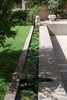 Fondazione Querini Stampalia by Carlo Scarpa - cate st hill Water Architecture, Landscape Architecture Design, Architecture Drawings, Architecture Details, Carlo Scarpa, Traditional Landscape, Contemporary Landscape, Landscaping Software, Garden Landscaping