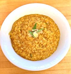 Pumpkin Risotto via @Jackie Ourman