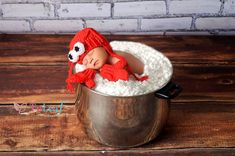 Lobster Hat and Mitten Gloves Newborn Red Crochet by Babyinthehat, $28.00