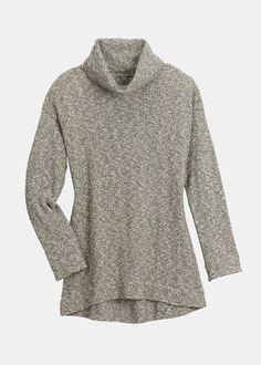 Long Sleeve Marled Turtleneck Sweater | Rodale's