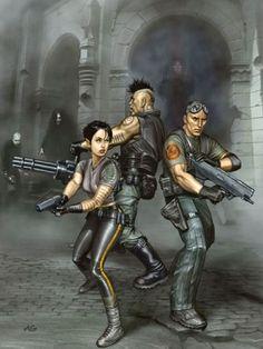 cyberpunk Shadowrun