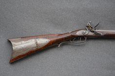 Finally finished the Iron Mounted Virginia Rifle Flintlock Rifle, Virginia Mountains, Longhunter, Long Rifle, Seed Bead Patterns, Colonial, Guns, Military, Iron