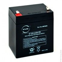 Batterie plomb AGM S 12 V-4.5 Ah FR 12V 4.5Ah T1 - AMP9036