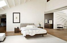 Double bed / contemporary / in wood - FEBO 2.0 - MobilificionGiacomo