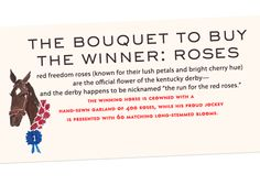 roses for the winner