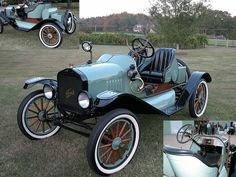 1920's Model T Ford Runabout...note the spotlight and windshield....