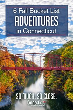 Connecticut's great outdoors beckons—from corn mazes and hiking trails to apple orchards and foliage views, find fall faster with these must-do New England activities. New England States, New England Travel, Camping And Hiking, Hiking Trails, Fall In Connecticut, Glastonbury Connecticut, Places To Travel, Places To See, Travel Destinations