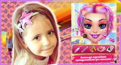 Сладкий макияж – Игра для девочек про салон красоты ❤ Game for Kids 💚 Ca...