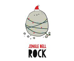Funny Christmas Card: Jingle Bell Rock  Joke Christmas