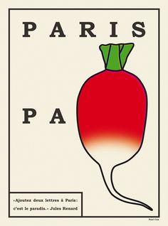 ポール・コックス:パリ市のためのポスター