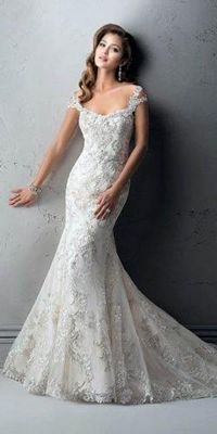 Trendy Fit And Flare Wedding Dress on Kleinfeld Bridal Blush Bridal, Bridal Gowns, Wedding Gowns, Romantic Wedding Receptions, Romantic Weddings, Wedding Ideas, Wedding Planning, Blue Weddings, Spring Weddings