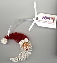 quilled Santa Ornament