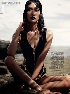 EDITORIAL: Tao Okamoto in Vogue China, July 2014