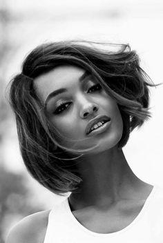 "Jourdan Dunn in ""Going Global"" by Patrick Demarchelier for Vogue UK, Feb 2015. """