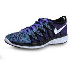 check out 9021c 021b8 New Young Big Boys Nike Flyknit Purple Haze White Black Court Purple 620658  500