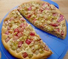 Rhabarberkuchen (Rezept mit Bild) von dundeenelly   Chefkoch.de