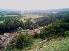 Vue de Saint-Martory (31) depuis la colline de la Vierge / Souvenirs d'Enfance
