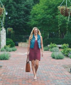 How To: Style a Slip Dress 2 Ways {For Now + Later} | Style in a Small Town