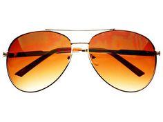 Retro Metal Pilot Aviator Sunglasses Gold A793