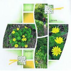 garden mosaic layout