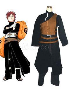 Naruto Sabakuno Gaara Halloween Cosplay Costume