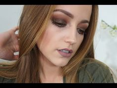 Glitter Holiday Makeup Tutorial - YouTube