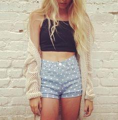 #highwaistedshorts #fashion #sweater #longhair #thinspo #skinny