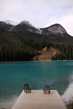 Emerald Lake Dock  ~ Canadian Rockies
