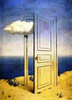 René Magritte - La Victoire (The Victory), 1939.