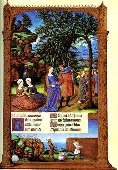 Folio 57r - The Flight into Egypt