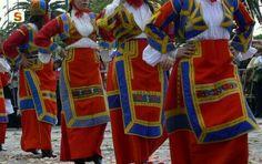 Processione di Sant' Efisio: costume di Desulo